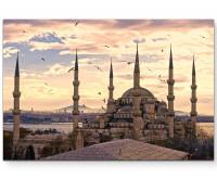 Premium Leinwandbild Moschee in der Türkei