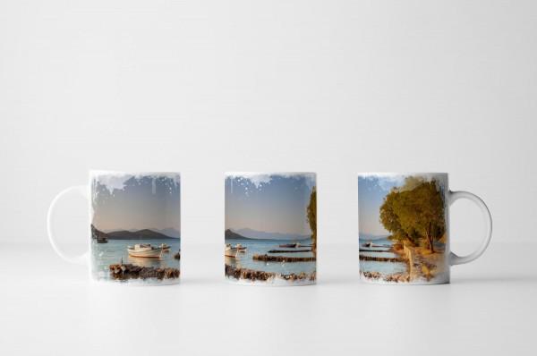 Tasse Griechische Küste