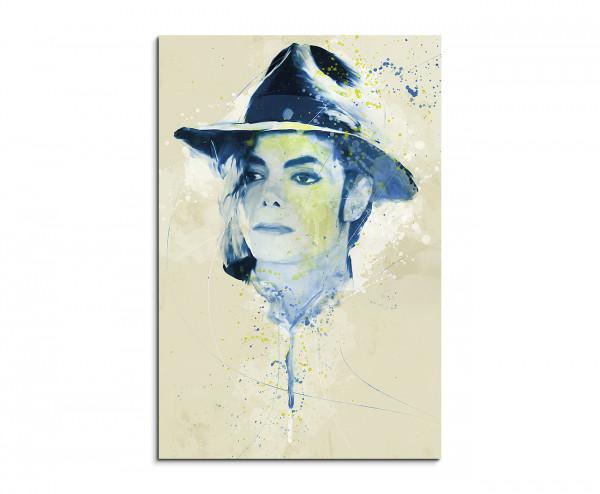 Michael Jackson I Premium Leinwandbild Bestforhomede