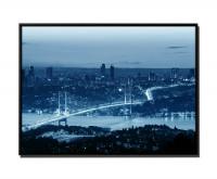 Sonnenuntergang Bosporusbrücke Istanbul