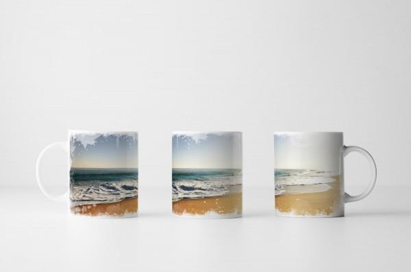 Tasse Der perfekte sonnige Strand