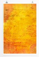 Poster abstrakt - Sonnenaufgang Poster