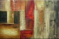 Gemälde abstrakt - Colors Storm