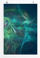 Poster abstrakt - Deep see Poster