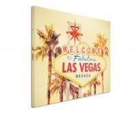 Premium Leinwandbild Welcome to Las Vegas