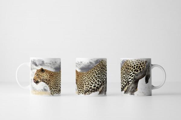 Tasse Anmutiger Leopard