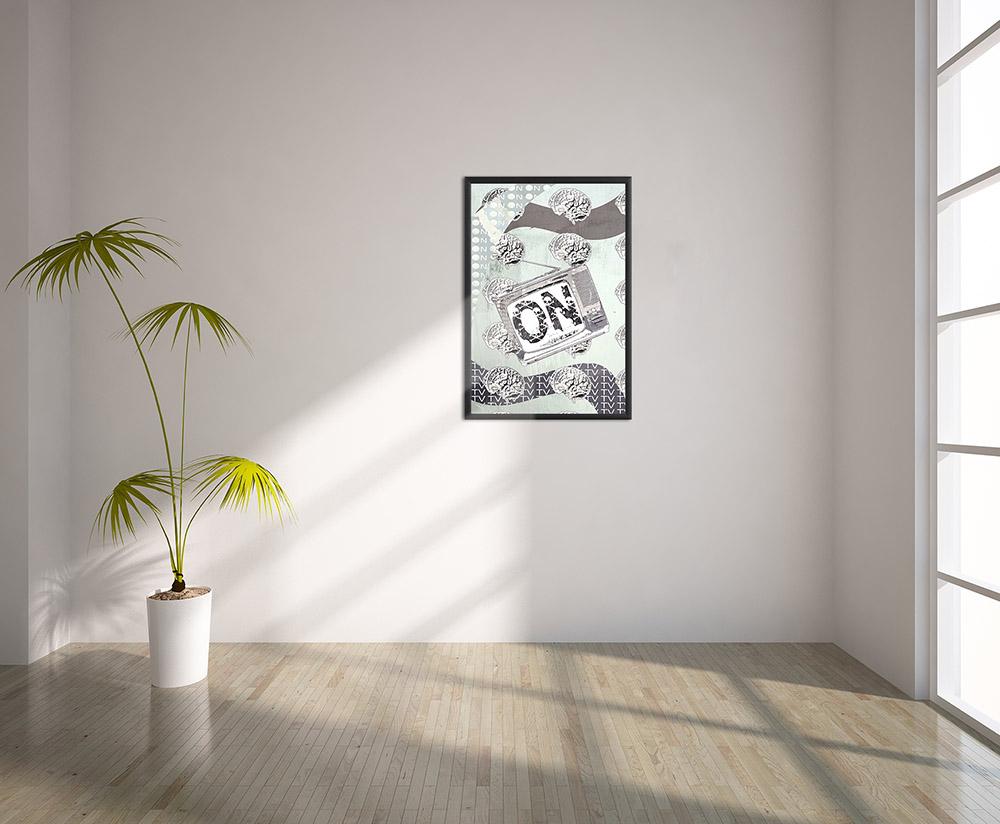 Pop Art Poster 90 x 60 cm