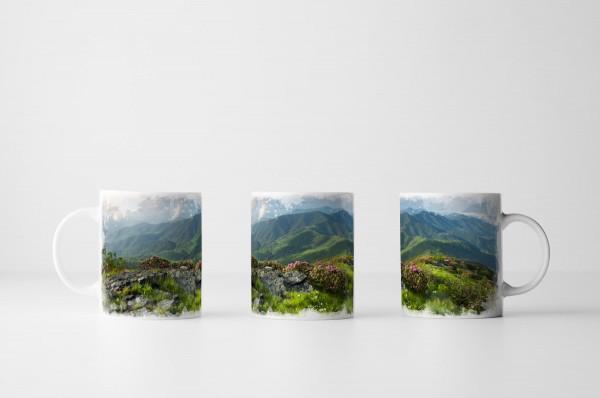 Tasse Blue Ridge Mountain North Carolina USA