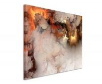 Premium Leinwandbild abstrakt Brown Clouds