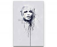 Brigitte Bardot Premium Leinwandbild