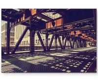 Leinwandbild Brücke in Chicago