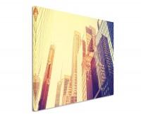 Premium Leinwandbild Wolkenkratzer in Manhatten New York