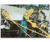 Leinwandbild abstrakt - A miss is as good as a mile