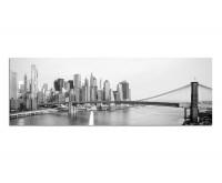 Premium Leinwandbild Brooklyn Bridge