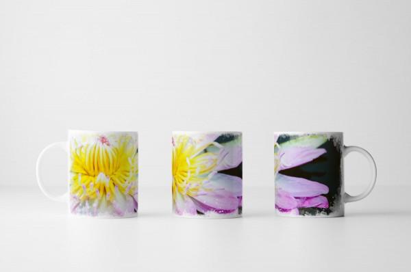 Tasse Pinke Lotusblume
