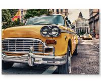 Yellow Cab in Manhatten