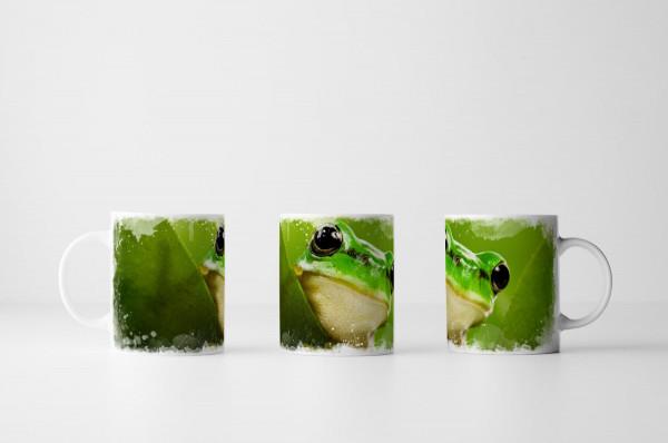 Tasse Süßer Frosch