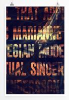 Poster abstrakt - Marianne abstrakt
