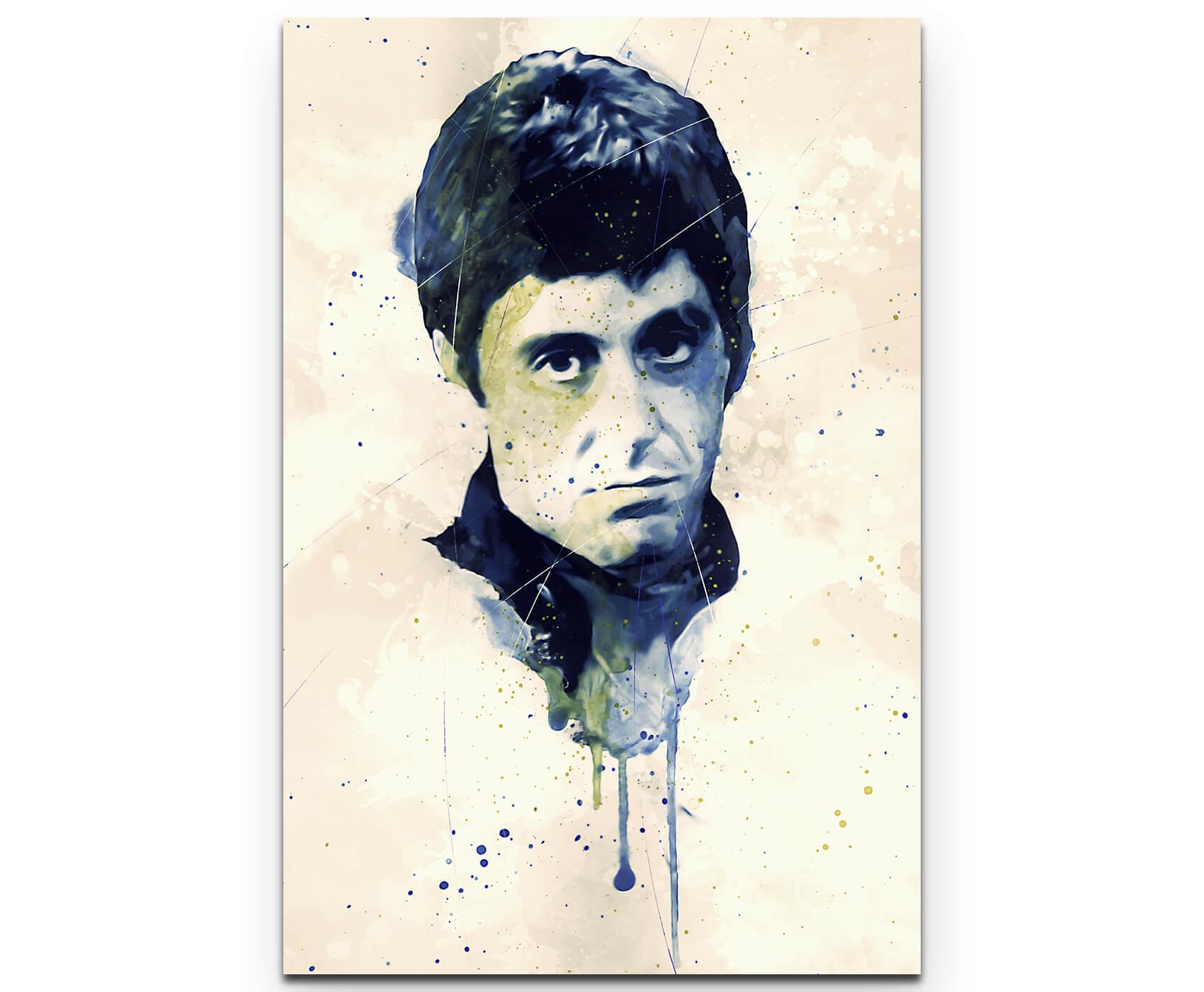 Al Pacino Scarface I als Premium Leinwandbild | Splash Art ...