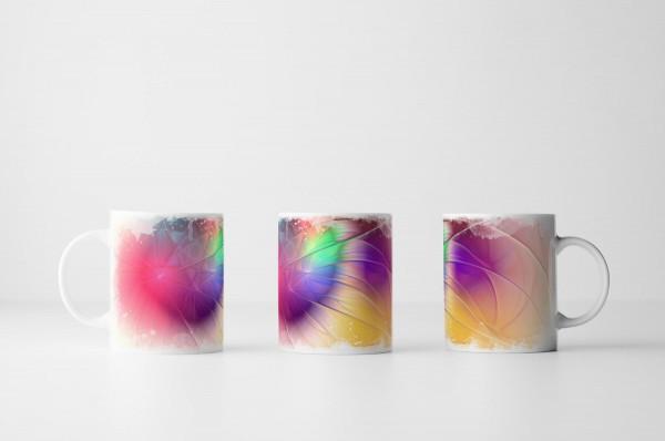 Tasse Fröhliche Farbenexplosion