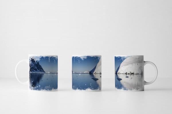 Tasse Gletscher der Antarktis