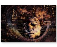 Leinwandbild Mathematik Formeln