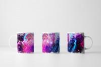 Tasse Abstrakte Space Fotocollage
