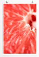 Poster Frische reife Grapefruit