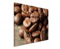Leinwandbild Geröstete Kaffeebohnen