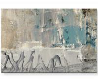 Leinwandbild abstrakt - A lie has no legs