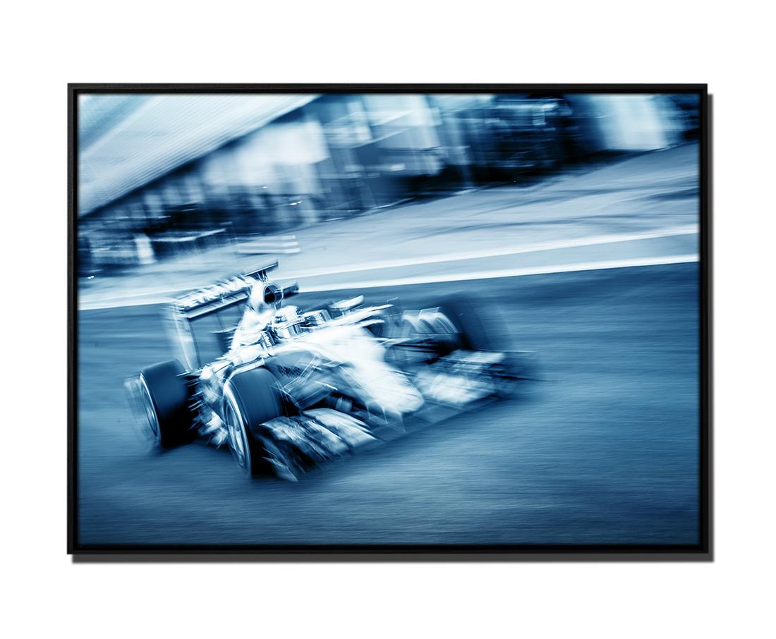 Leinwandbild im Rahmen Mercedes Formel 1   bestforhome_de