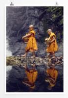 Poster Buddhistische Novizen